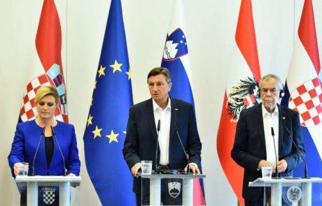 Pahor danes v Zagrebu na kosilu z Grabar-Kitarovičevo