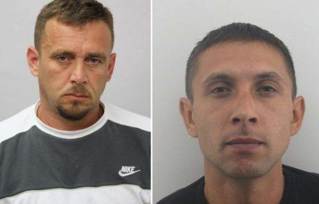 Policija: prišlo je do nesporazuma, oba pripornika sta še na begu