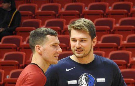 """Dončić: """"Veliko sem se naučil od Gorana. Vedno je nekaj posebnega igrati proti njemu"""""""
