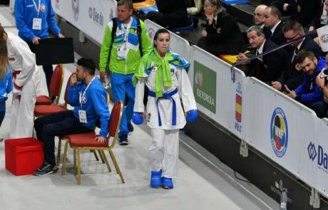 Slovenska Karateistka Tjaša Ristić je na evropskih igrah v Minsku osvojila srebrno kolajno