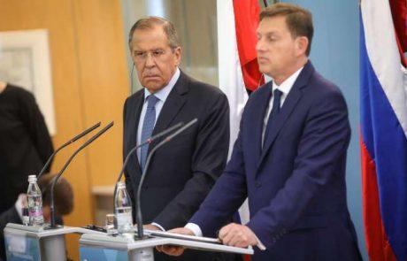 Cerar in Lavrov potrdila dobro sodelovanje med Slovenijo in Rusijo