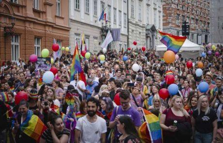 Ljubljanska parada ponosa zaradi omejitev zbiranja v nekoliko drugačni obliki