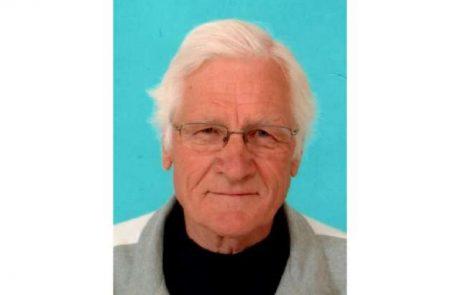 Ste ga videli: Policija prosi za pomoč pri iskanju 83-letnega Friderika Ješovnika iz Slovenj Gradca