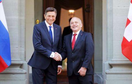 """""""Švicarji in Slovenci smo si podobni in želimo sodelovati"""""""
