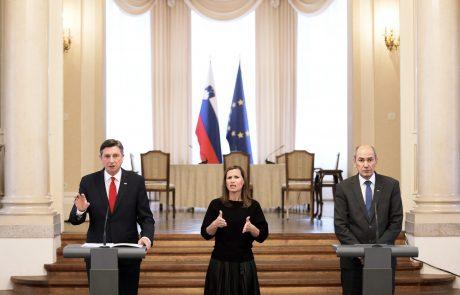 Pahor prosil pisatelje, naj Janševi vladi vendarle pogledajo skozi prste