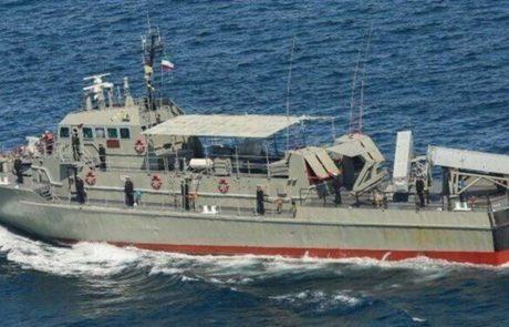 Iransko vojaško ladjo med vajami ponesreči zadela raketa