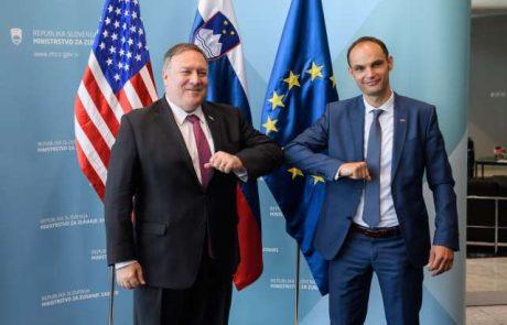 Logar po obisku v Washingtonu potrdil, da se bo strateški dialog nadaljeval tudi z Bidenovo vlado