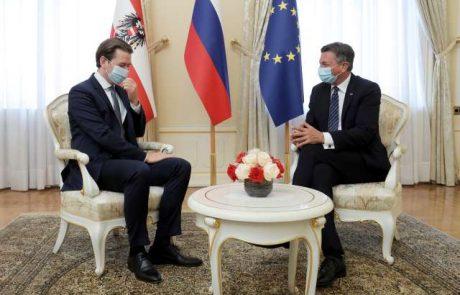 Pahor in Kurz sta govorila o pripravah na 100. obletnico koroškega plebiscita
