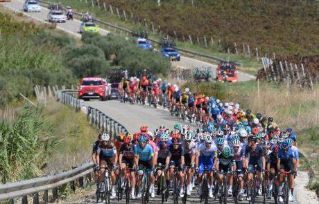 Petnajsta etapa letošnjega Gira d'Italia bo potekala tudi v Sloveniji, v Novi Gorici in Goriških Brdih