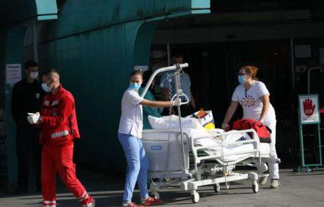 Hrvaška pripravljena sprejeti bolnike s covidom iz Češke in Slovaške