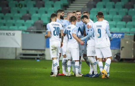 Slovenska nogometna reprezentanca proti Rusiji izgubila z 1:2