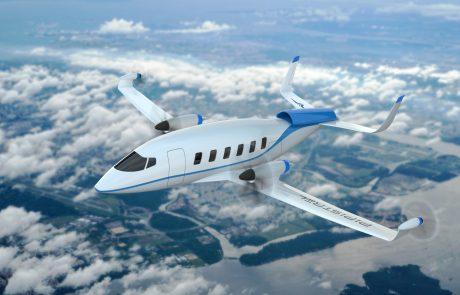 Uspešno poletelo Pipistrelovo prvo štirisedežno hibridno električno letalo s pogonom na vodik