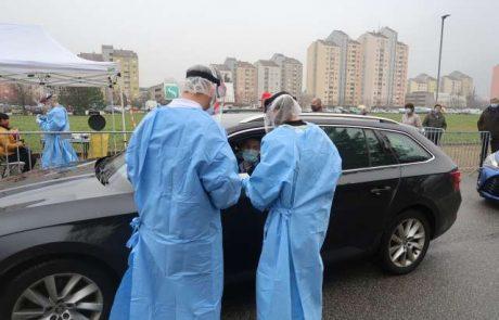 Splošno hitro testiranje na novi koronavirus še na dodatnih lokacijah po Sloveniji