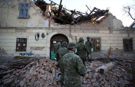 Na Hrvaškem sanacija potresa, medtem ko se tla še zmeraj tresejo