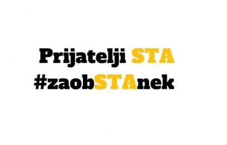 V kampanji Za obSTAnek v prvem tednu zbrali 189.000 evrov, kar je enako enomesečnemu nadomestilu države za javno službo STA