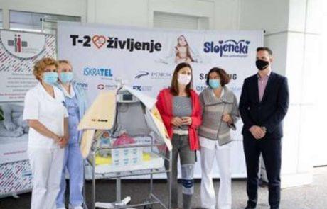 Postojnska porodnišnica se kot prva v Sloveniji lahko pohvali z najsodobnejšo fotolučko za oskrbo novorojenčkov z zlatenico