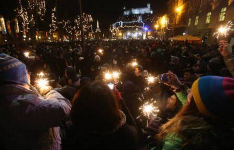 V živo: Silvestrovanje v Ljubljani