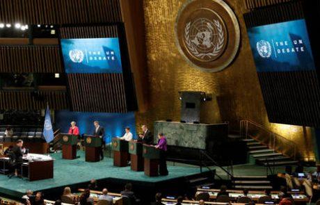 Pohvale in polena v tekmi za vrh OZN