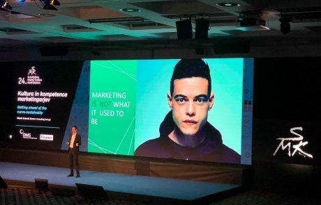 24. Slovenska marketinška konferenca v znamenju tehnologij za obvladovanje podatkov