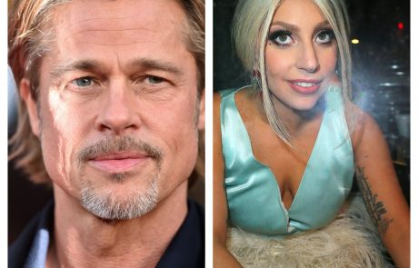 Hollywood na nogah: Brad Pitt in Lady Gaga skupaj?