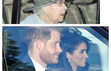 """Harry in Meghan kraljici Elizabeti zadala nov udarec: """"Vsi smo žalostni zaradi njune odločitve"""""""
