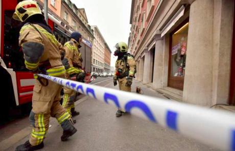 Iz bloka v Kočevju zaradi požara evakuirali 54 stanovalcev