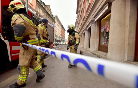 V Mariboru evakuirali večstanovanjsko hišo zaradi uhajanja plina