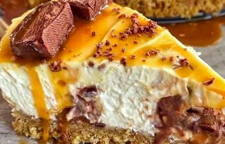 Dekadentna sladica, ki spodnese tla pod nogami: Mars Cheesecake brez peke