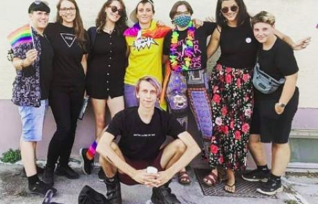 Prva parada ponosa na Koroškem: udeleženci zahtevali spremembe diskriminatornih politik