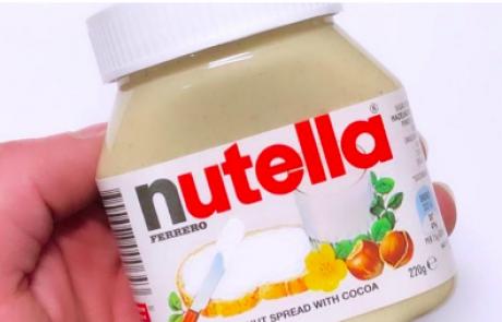 Fotografija bele Nutelle je postala hit: Razkrivamo recept, za katerim je ponorel Instagram