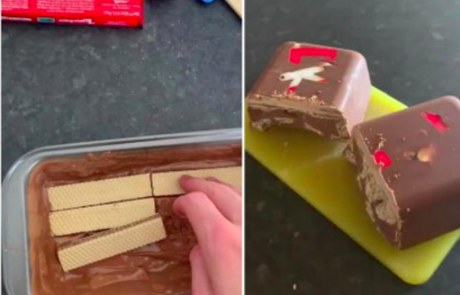 Odličen recept za KitKat torto: Narejena je iz samo dveh sestavin, pa še brez peke