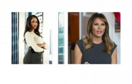 Meghan Markle v sporu z Melanijo Trump