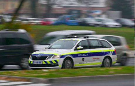 Slovenski policisti kaznujejo tudi prepočasne voznike