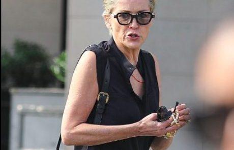 Sharon Stone spet s svojim 19-letnim sinom, brez katerega je ostala zaradi bizarnega razloga, ko je bil on star le 8 let
