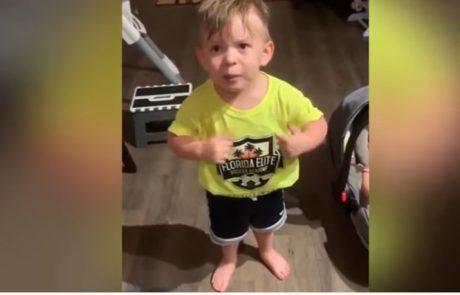 Video dneva: Deček ni mogel skriti razočaranja ob tem, kako se je mamica poslovila od njega