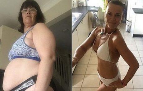 Brez telovadbe: V treh mesecih je uspela izgubiti več kot 30 kg