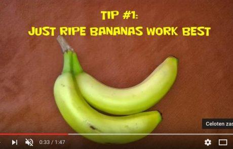 Enostaven trik, kako se znebiti bradavice s pomočjo bananinega olupka