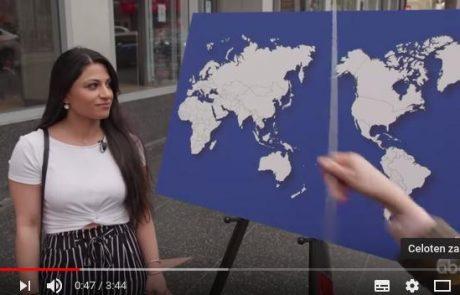 Ljudem so zastavili enostavno zemljepisno vprašanje, odgovori pa so razkrili, kaj se nam Američani zdijo neumni