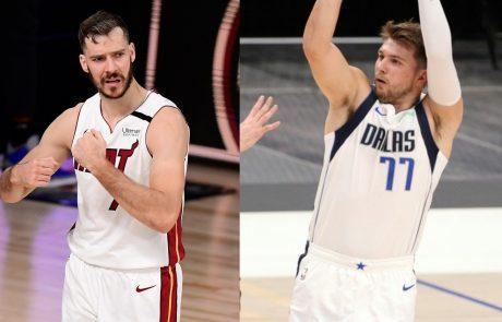Dončić in Dragić se znova podajata v boj za končnico lige NBA