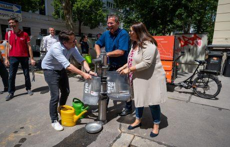 Dunaj išče »drevesne botre«, ki bi v vročih poletnih dneh skrbeli in zalivali mestna drevesa