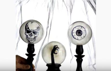 NAREDI SAMA: Hudi triki za doma narejene kostume in Halloween dekoracijo (video)