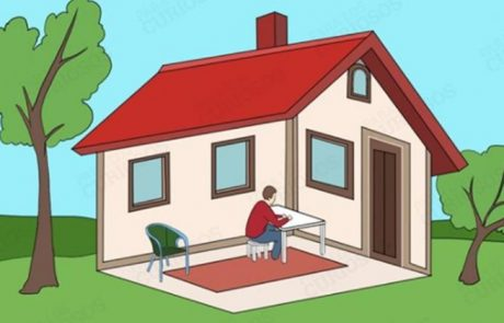 Je človek v hiši ali zunaj nje? Spoznajte, kaj vaš odgovor pove o vas!