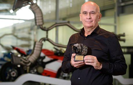 Igor Akrapovič je prejemnik nagrade za posebne dosežke v gospodarstvu 2017
