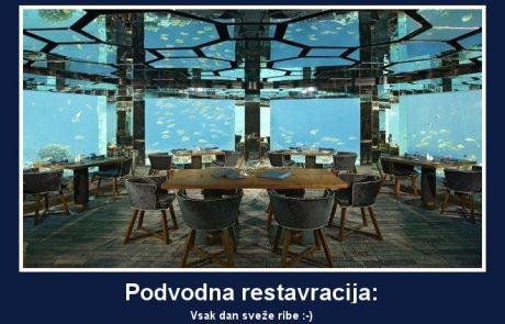Podvodna restavracija