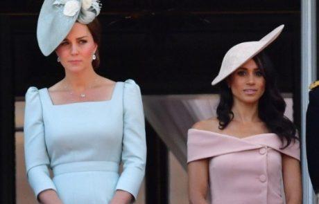 Prekršila protokol: Kate Middleton končno spregovorila o Meghan Markle