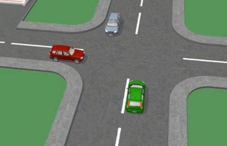 Zagonetka za vse voznike: Kdo ima prednost na tem križišču?