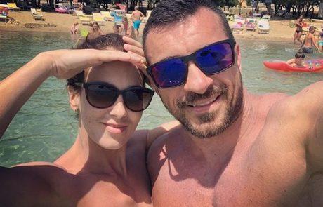 Fotografija pove več kot tisoč besed: Lili Žagar in Marko Potrč imata prelep razlog za srečo