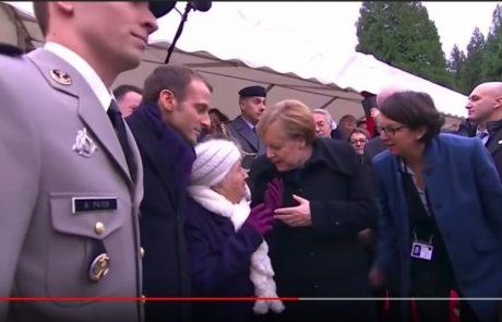 Video dneva: Francoska babica je takole zamešala Angelo Merkel