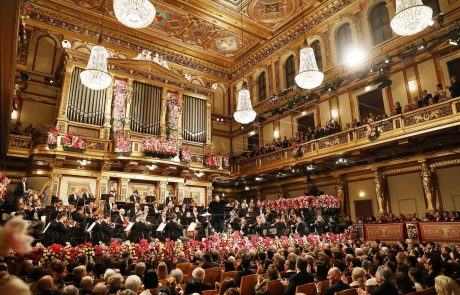 Gledalci novoletnega koncerta Dunajskih filharmonikov bodo glasbenike lahko nagradili z virtualnim aplavzom