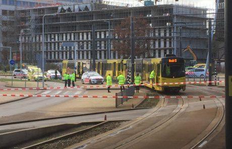 Po streljanju v Utrechtu trije pridržani, policija motiv za napad še preiskuje